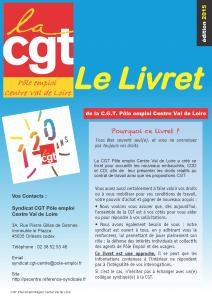 page d'accueil du livret éd 2015 CVL