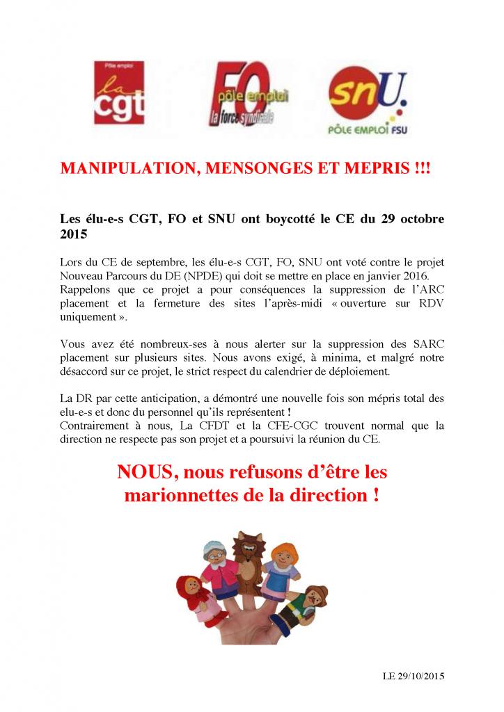 2015-10-29 - MANIPULATION, MENSONGES ET MEPRIS-1