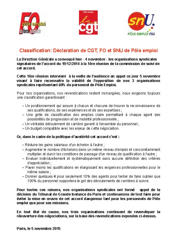 2015-11-05-CGT-FO-SNU-Classification